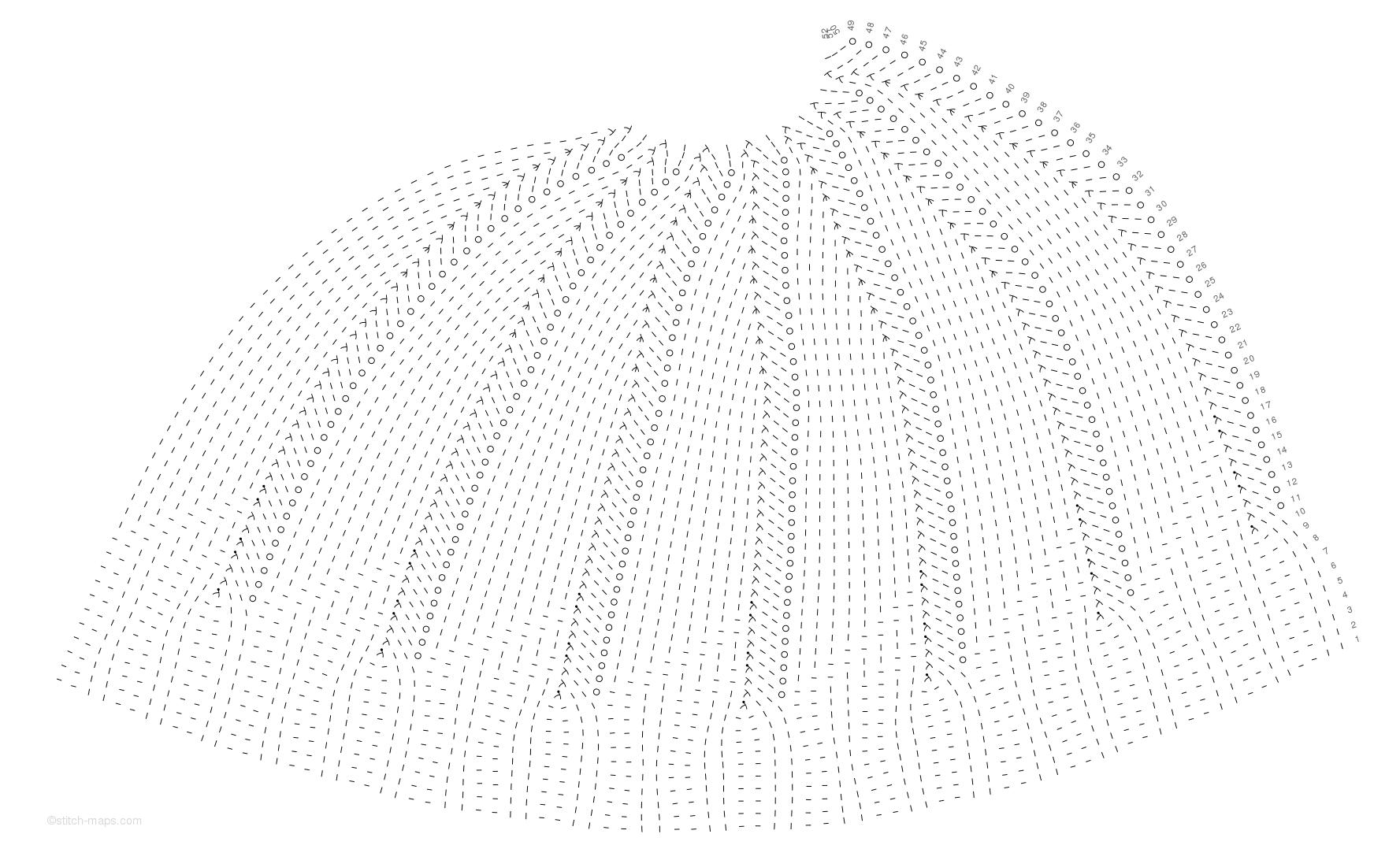 Swirl hat chart