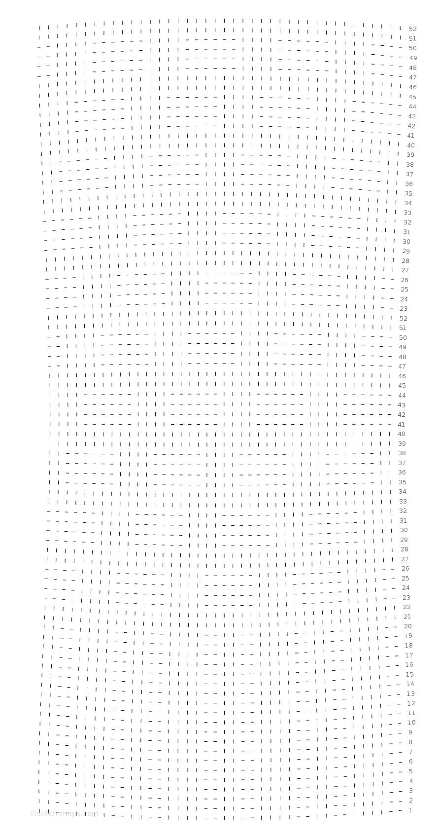Bündchen + Mock cable chart