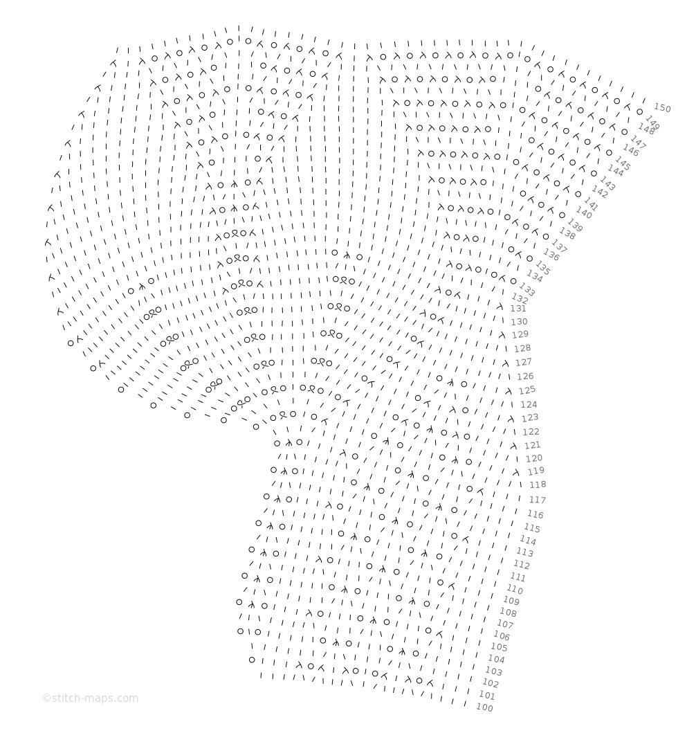 Tulip doily_part 3_edge chart