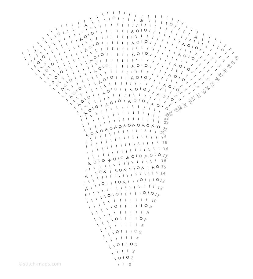 Lysedug doily_part 1 chart