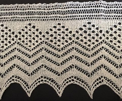 Openwork Lace swatch photo