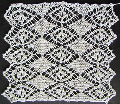 Swiss Lace Necktie swatch photo
