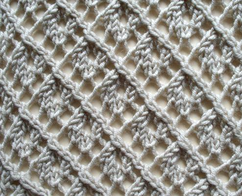 Trellis Lace swatch photo