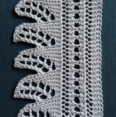 Dunmore Lace, v2 swatch photo