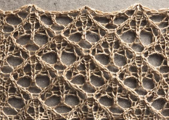 Doodle lace swatch photo