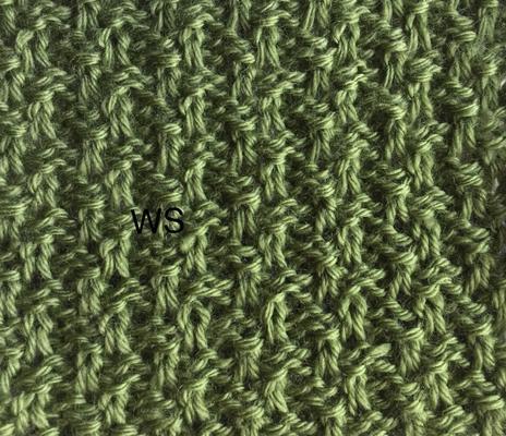 Slip stitch fabric 12 swatch photo