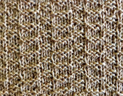 Ladder stitch swatch photo