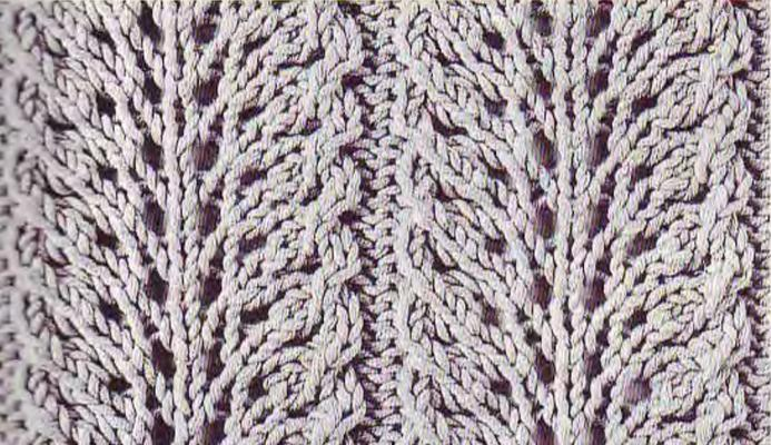 Wide lace swatch photo