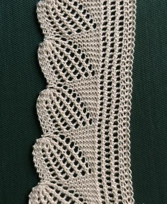 Pineapple Lace swatch photo