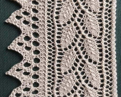 Willow Leaf Edging swatch photo