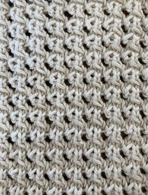 False Crochet swatch photo