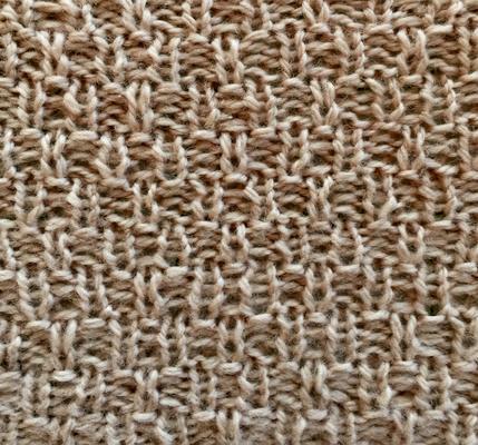 Sturdy slip stitch swatch photo